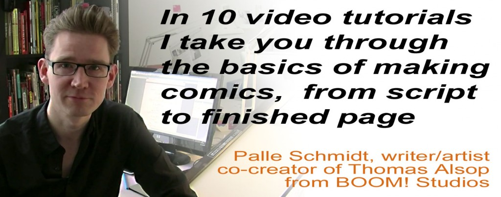 Write-Draw-Comic-Book-Video-Turotials