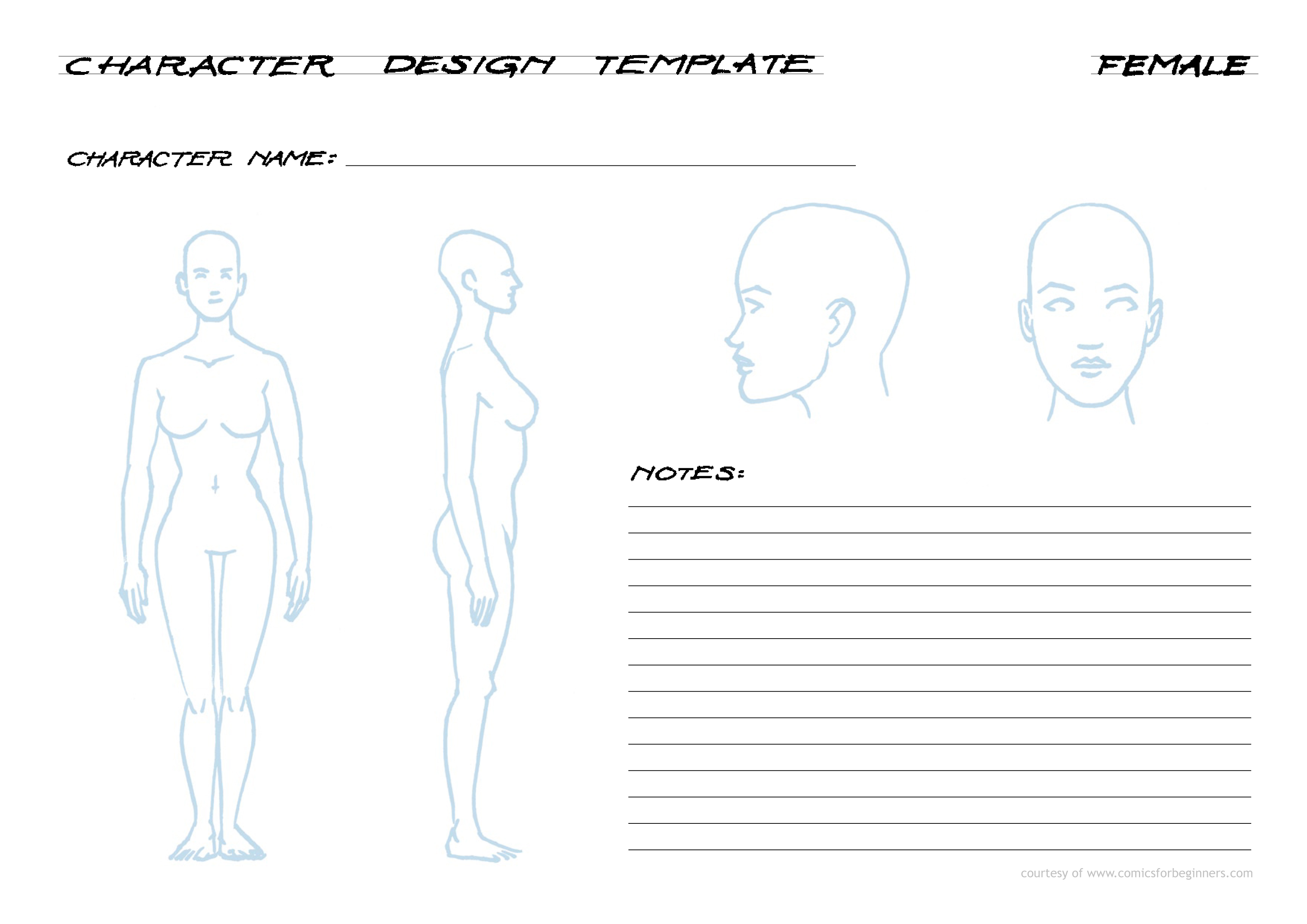 Free Tools For Comic Book Artists - Comics for Beginners