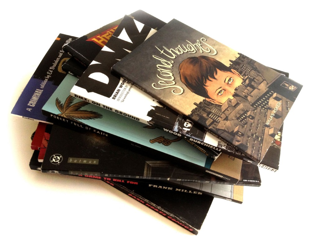 Some of the best graphic novels for newbies
