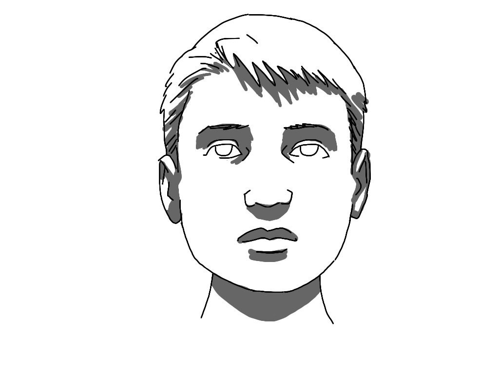 Art Tutorial Light Shadow Face further Watch together with Illustration Stock Oreille Humaine De Dessin Illustration D Ensemble Image63224366 also How To Draw Son Goku Face likewise 166014 Defender Fleet Grumman F 14 Tomcat. on nose drawing