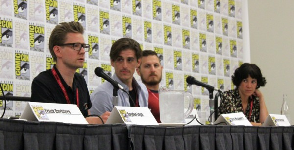 Left to right; Palle Schmidt, Chris Miskiewicz, Bryce Carlson, Vanesa R. Del Rey. Image courtesy of Bleeding Cool.
